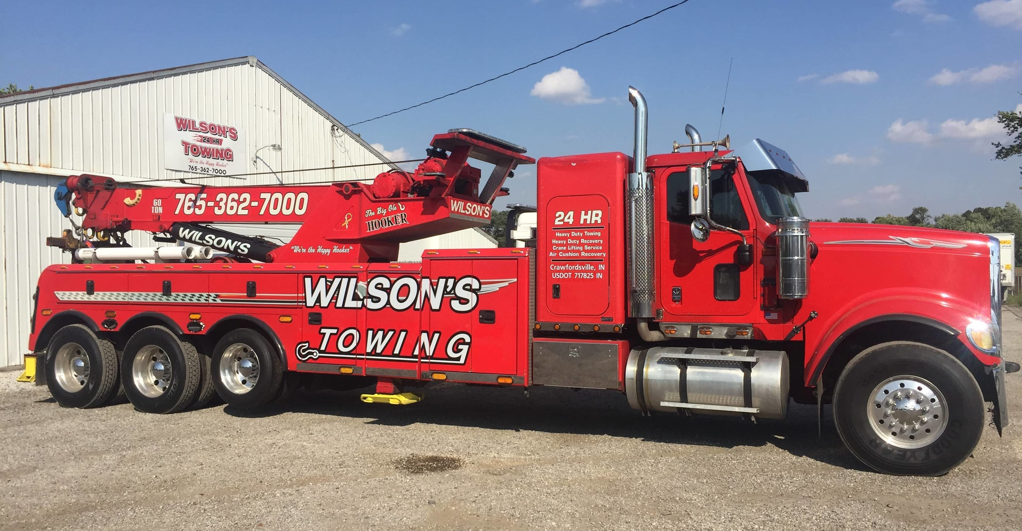 Wilson S 24 Hour Towing Towing Roadside Assistance Crawfordsville
